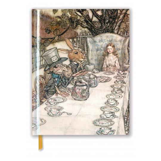 Alice in Wonderland Tea Party A4 Sketchbook