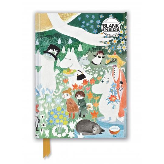 Moomin: Dangerous Journey Plain Foiled Notebook A5