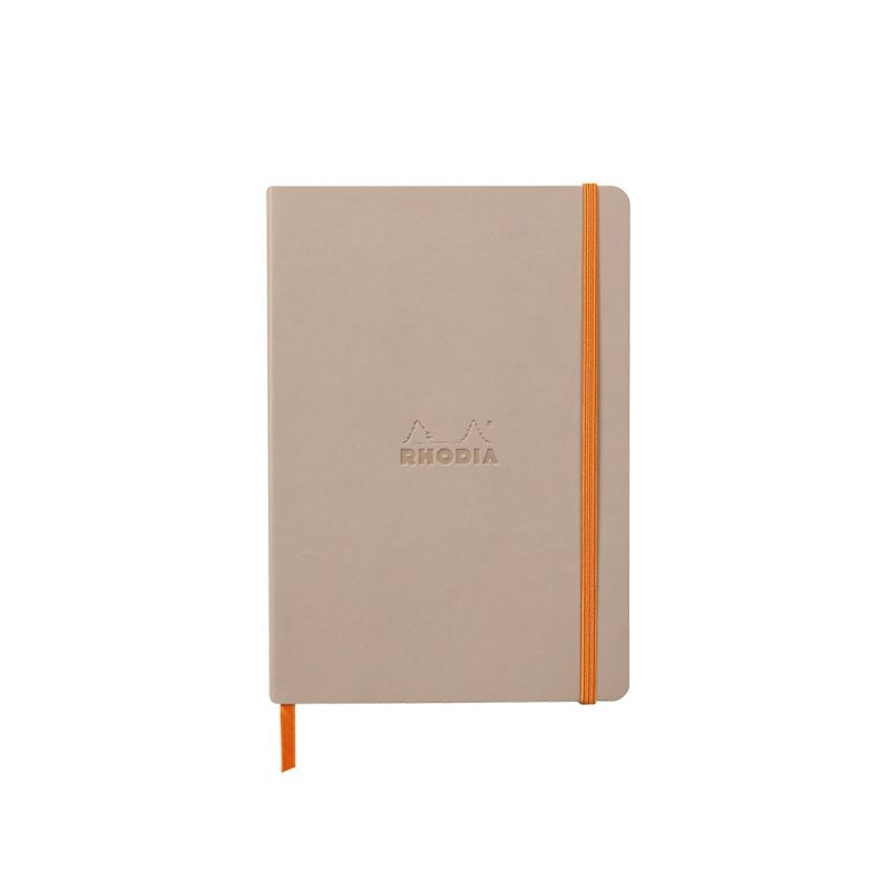 Rhodia Softcover Notebook A5 - Rose Smoke