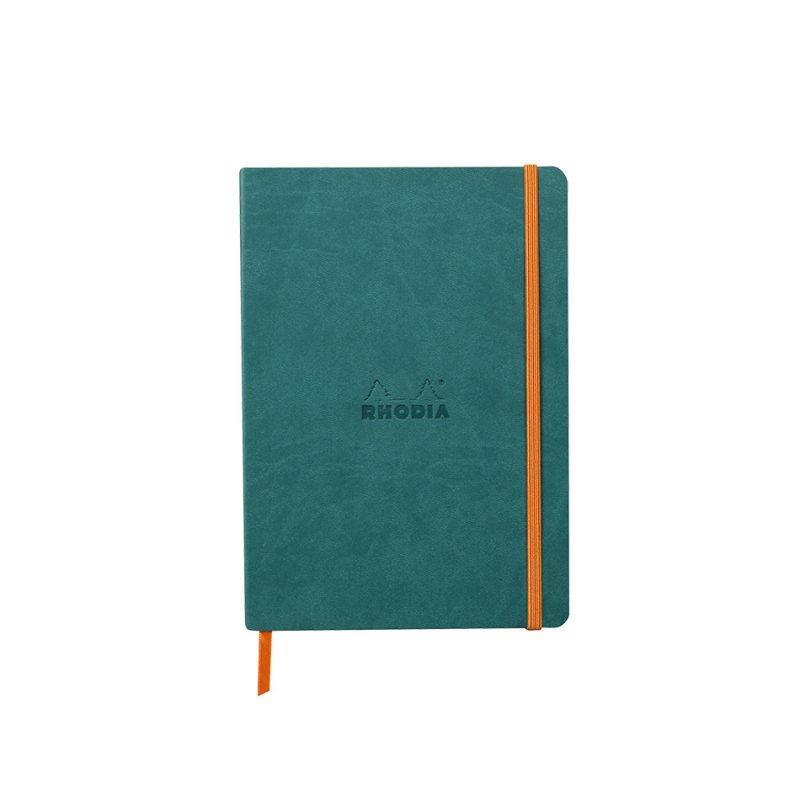 Rhodia Softcover Notebook A5 - Peacock