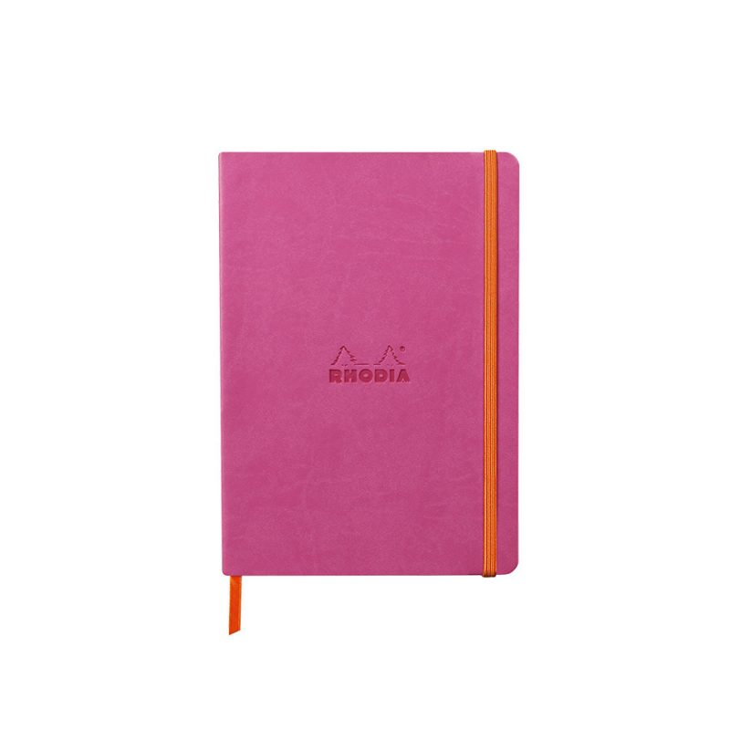 Rhodia Softcover Notebook A5 - Fuscia