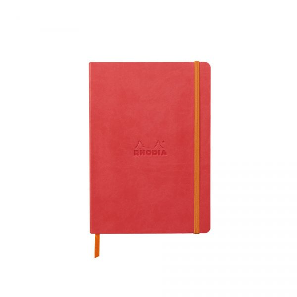 Rhodia Softcover Notebook A5 - Coral