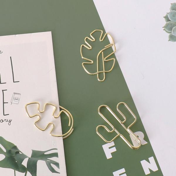 Leaf Paper Clips