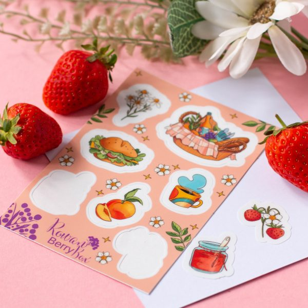 Picnic Sticker Sheet