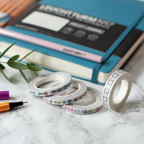 Bullet Journal Washi Tape Set