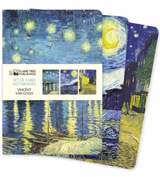 Van Gogh Midi Notebook Collection
