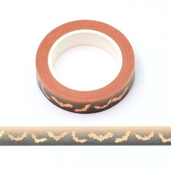 Copper Bat Washi Tape