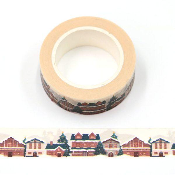 Christmas Village Washi Tape