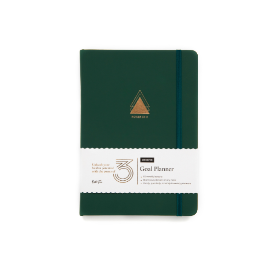 Power of 3 Goal Planner Yop & Tom Forest Green