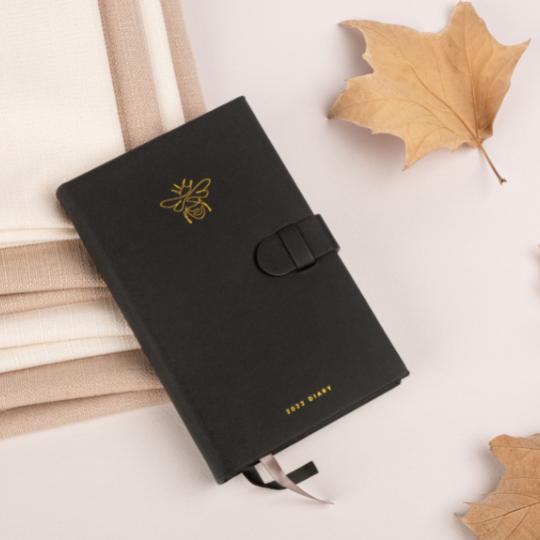 2022 Pocket Diary Gold Bee