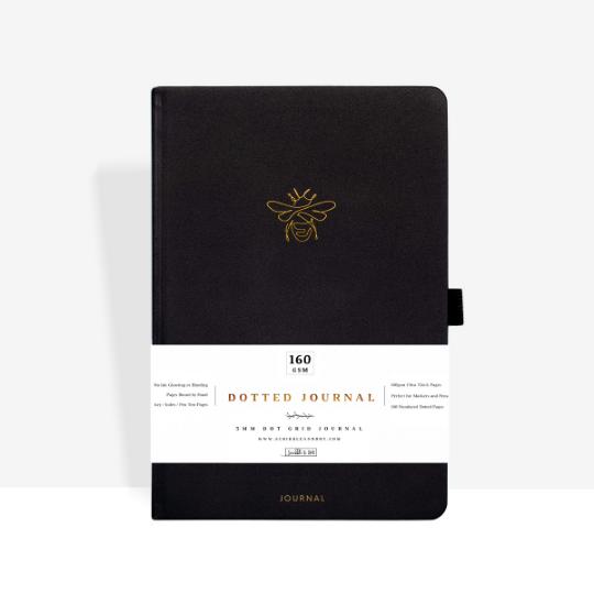 Gold Bee A5 Dot Grid Journal